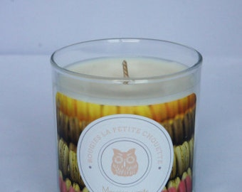Vanilla natural soy wax candle, 200g