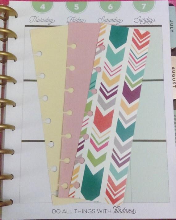 Happy planner bookmarks planner accessories planner insert for Happy planner accessories