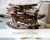 Custom Order for Lara: 1/2 lb English Butter Toffee
