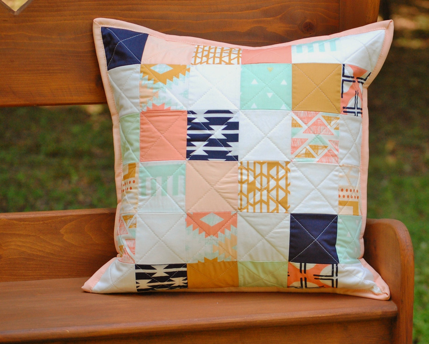Southwestern Throw Pillow Covers : Southwestern Throw Pillow Cover for 16 Square Pillow