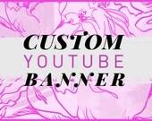 Custom Youtube Design | Youtube Logo | Youtube Cover | Custom Youtube Banner | Social Media Design | Branding | Beauty Vlog Design