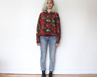 SALE***Floral Prints Vintage Blouse