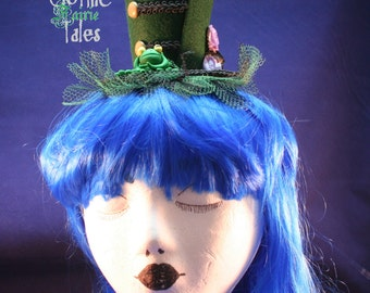 Gothic Fairie Tales Frog Princess Hat, Mini Hat, Lolita