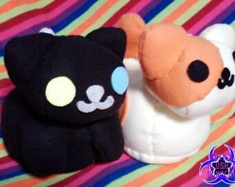 Neko Atsume Peaches or Pepper kitty plush *Updated*