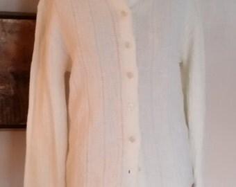 Nan Dorsey Vintage Creamy Cardigan