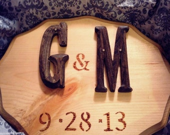 Personalized Wooden Plaques