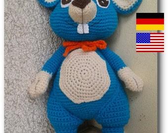 Pattern: Amigurumi, Mopple Mouse, Mouse, Stuffed Animal