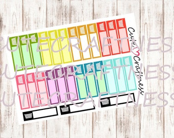 Laundry labels stickers erin condren  life planner