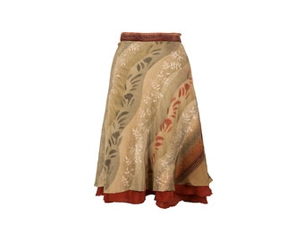 Wrap Skirt, Silk Wrap Skirt, Unique Skirt, Unique Clothing, Silk Skirt, Boho Skirt, Plus Size Skirt, Wrap Skirt, Silk Skirt, One of a Kind