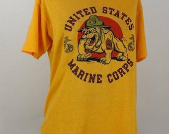 US Marine Corps 1983 Vintage T-Shirt, size M