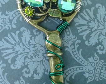Green Flower Key