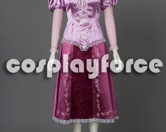 New Tangled Princess Rapunzel Cosplay Costume mp002931