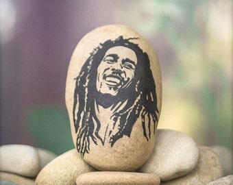 Bob Marley -  Music Bob Marley - Hippie Decor - Bob Marley Decorations - Music Decor - Music Gift - Gift for Him - Bob Marley Gift - Gifts