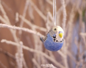 Budgie Ornament