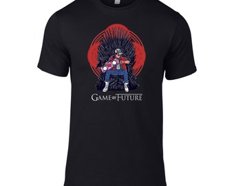 Game of Future - t-shirt based on both Back to the future and Game of Thrones.