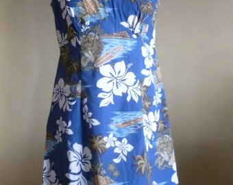 HAWAIIAN MINI DRESS