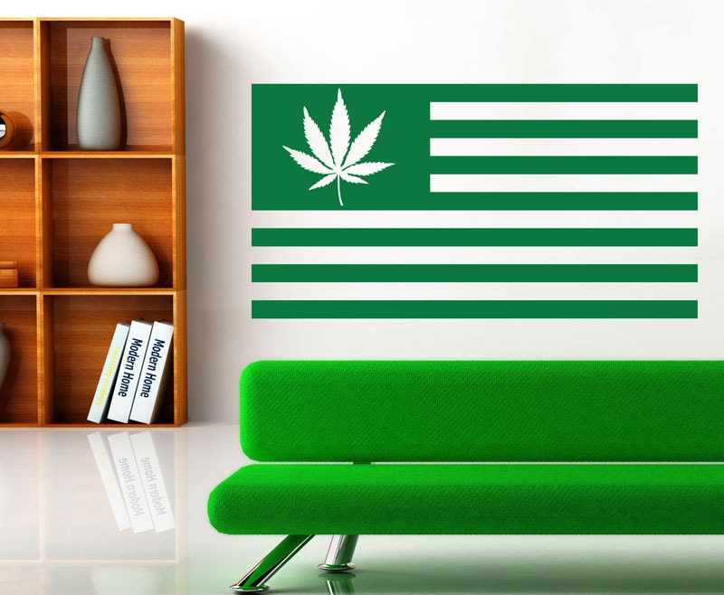 Stoner Gifts Cannabis Decor Weed Decor Decal Marijuana Decor Weed Sticker Stoner Sticker Stoner Decor Stoner