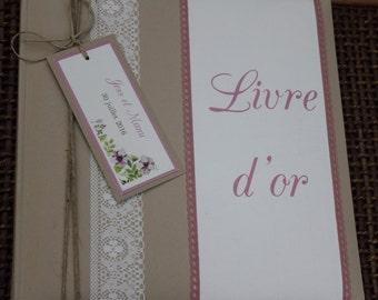 Guestbook range |mariage side jardin|