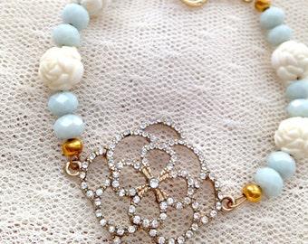 Flower Sparkle Bracelet