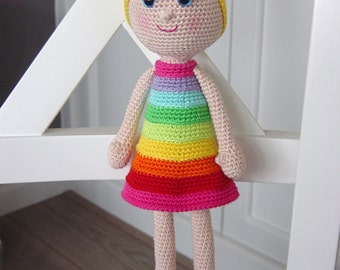 Rainbow Girl pattern