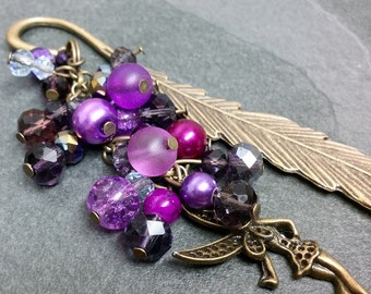 Feather and Fairy Bookmark