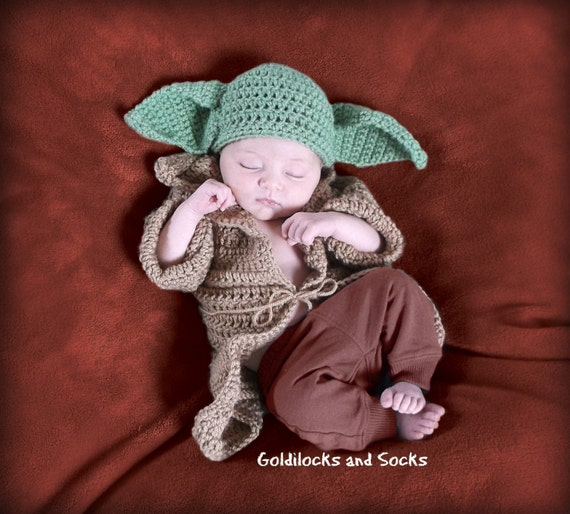 baby yoda outfit baby yoda hat baby yoda costume crochet. Black Bedroom Furniture Sets. Home Design Ideas