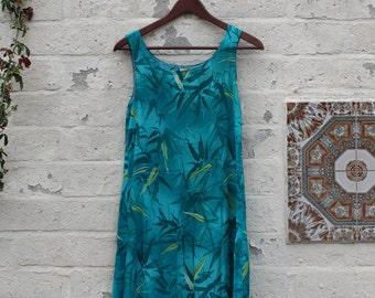 Blue Paradise Dress