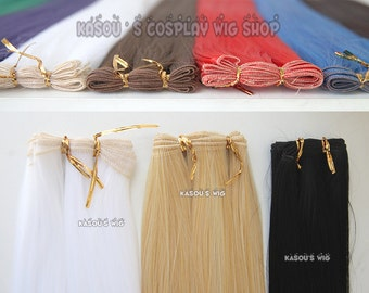 48 / 90cm long weft extension . 52 colors available.