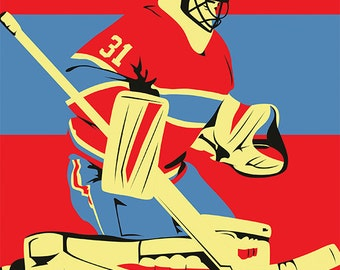 Montreal Canadiens A3 print