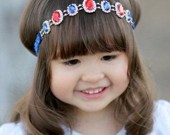 SNOW WHITE - Rhinestone Headband - Photo Prop - Disneyland Trip Disney World - Toddler - Teen - Adult