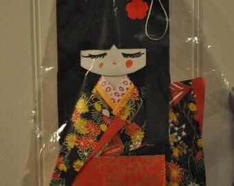 Origami Paper Geisha