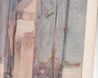 Deco fenetre brise vue deco etsy for Art nouveau fenetre