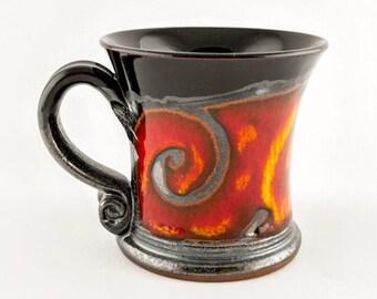 ceramic espresso cup, ceramic coffee mug, pottery Coffee cup, coffee lover, Ceramics and pottery, Christmas gift, Coffee set, Espresso mug F