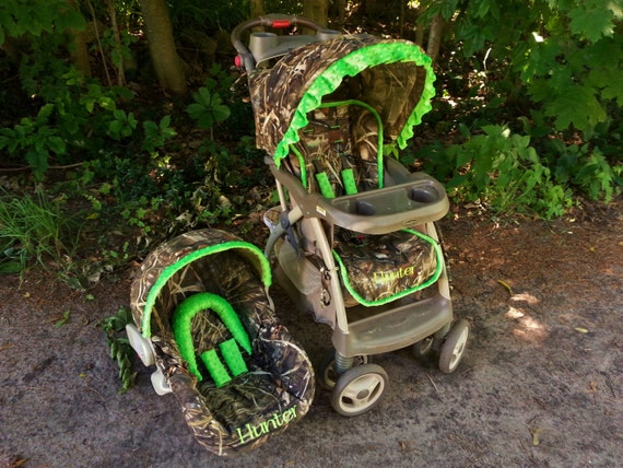 Camo Stroller Cover And Infant Seat Cover By Creativecarriers