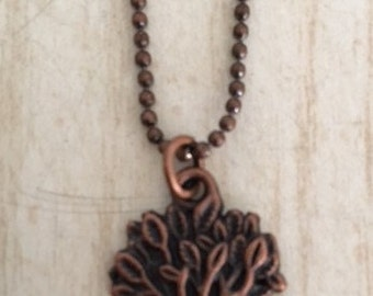 Tree of Life Charm Necklace.  CC0106