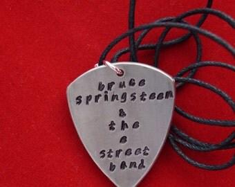 Bruce Springsteen & The E Street Band Plectrum Pendants