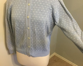 Vintage L.L. Bean light blue sweater