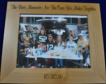 Gift For Family ~ Family Gifts ~ Picture Frame ~ Husband Gift ~ Personalized Frame ~ Engraved Picture Frames ~ Great Gift For Friends ~ Gift