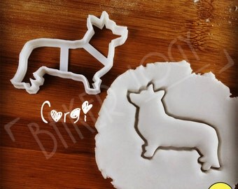 Corgi Dog cookie cutter | Cardigan Welsh biscuit cutter | fondant cutter | clay cheese cutter | コーギー 코기 one of a kind ooak | Bakerlogy