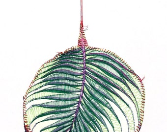 Paper Wall Hanging - Palm Garden Celebration