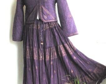 1970's PHOOL Skirt & Jacket