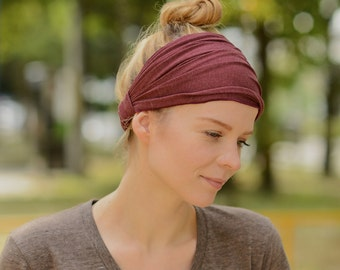 Yoga Headband - Wide Headband - Running Headband - Fitness Headband - Workout Headband - Turban Headwrap - Hair Accessories - Unisex th-vbt
