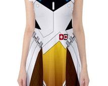 OVERWATCH MERCY Inspired Skater Dress - Preorder