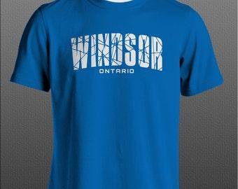 Windsor Ontario T-shirt Free Shipping