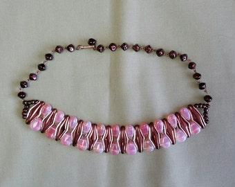 Vintage West German Choker Necklace