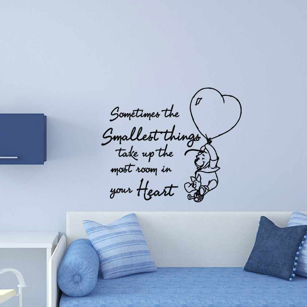nursery wall decals quotes winniethe pooh sometimes the