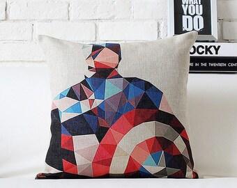 Avengers captain america throw pillow case pillow cover
