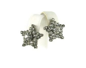 Kramer Rhinestone Star Earrings