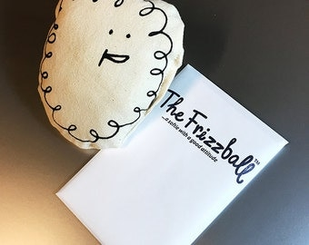 The Frizzball Book & Pillow Critter Duo