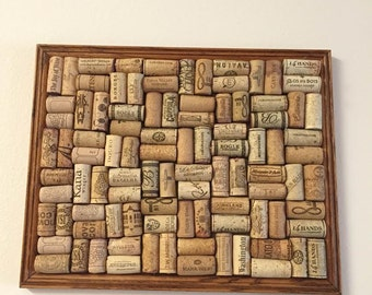 Wine Cork Board- Medium